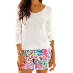 Lilly Pulitzer Armory High Low Loose Knit Sweater